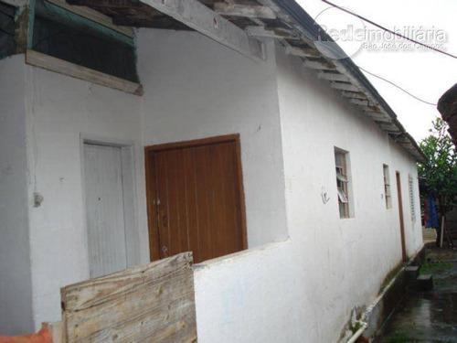 Casa Com 1 Dormitório Para Alugar, 40 M² Por R$ 500,00 - Vila Maria - São José Dos Campos/sp - Ca0831