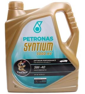 Aceite Petronas Syntium 3000 Am 5w-40 O 5w30 Sintético X 4 Lts