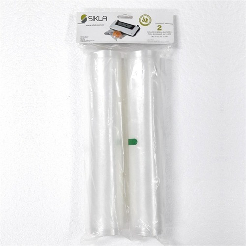 Rollos De Bolsas Envasadora Al Vacío Marca Sikla Pack X2!!