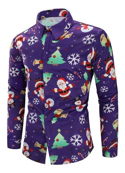Los Copos De Nieve Impreso Navidad Camisa Navidad
