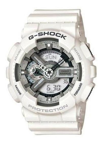 Relógio Casio Masculino G-shock Branco Ga110c7adru