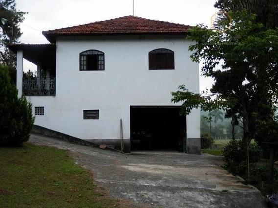 Sitio Com 24.200 M² Com Casa E Lago Para Pesca Em Mogi Das Cruzes - Si0002