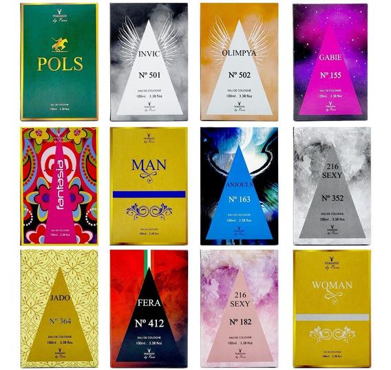 Kit 24 Perfumes Importados 100ml - Promoção Black Friday!!