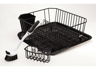 Rubbermaid Antimicrobial Sink Dish Rack Drainer