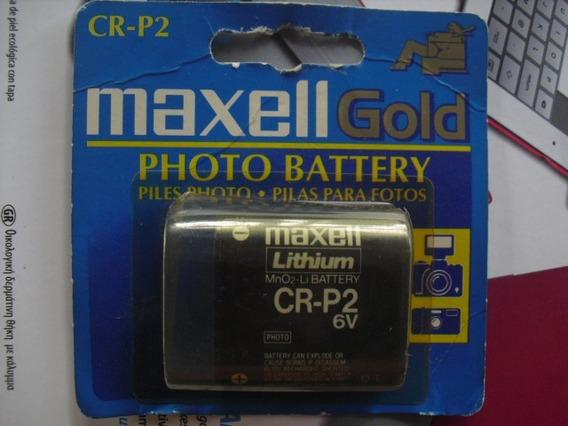 Bateria Pila Maxell Cr-p2 Camara 6v