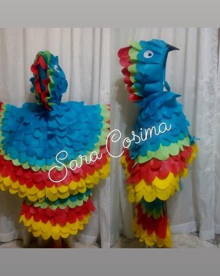 Disfraz De Pájaro/ave/guacamayo