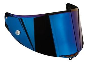 Viseira Agv Race 3 Iridium Azul Pista Gp Corsa Veloce