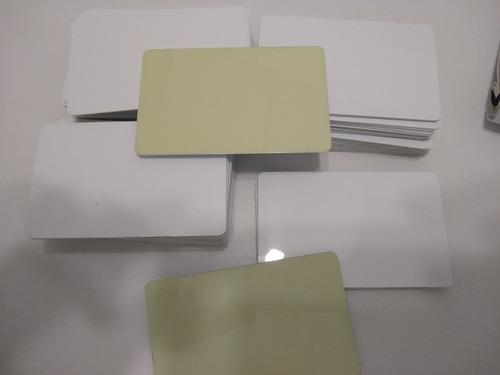 Tarjetas Para Carnets De Pvc Autoadhesivas( Pack De 10)