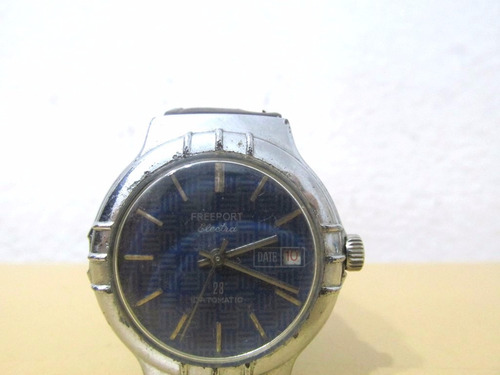 Reloj De Pulsera De Hombre Freeport Funcionando Ey54