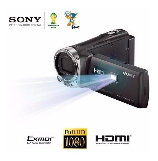Filmadora Sony Full Hd Hdr-pj340 Wi-fi Zoom Óptico 30x 9.2mp