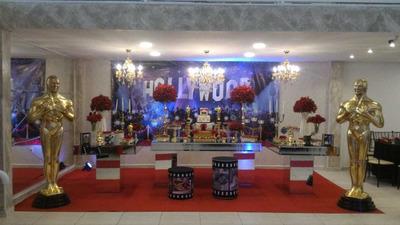 Aluguel De Decoração Festa Cinema Hollywood Oscar