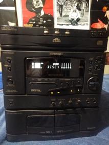 Mini System Sharp Cd K40 Reliquia Som Karaokê Digital