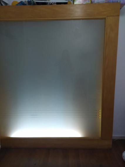 Biombo, Módulo Divisor De Ambientes, Con Luz