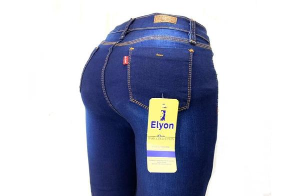 Jeans Pantalón Dama Mezclilla Strech