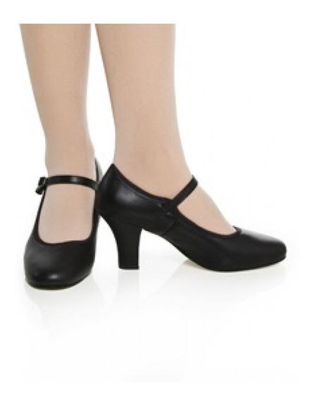 Sapato Couro Dança De Salão Capezio Ref. 40