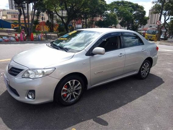 Toyota Corolla Gli 1.8 2012 Sinistro Recuperado