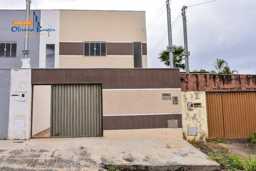 Sobrado Com 3 Dormitórios À Venda, 133 M² Por R$ 275.000,00 - São Carlos - Anápolis/go - So0058