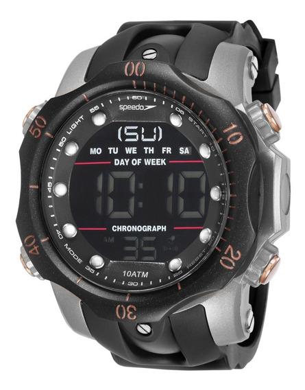 Relógio Speedo Sport Big Case Cronômetro Alarme 11005g0evnp5