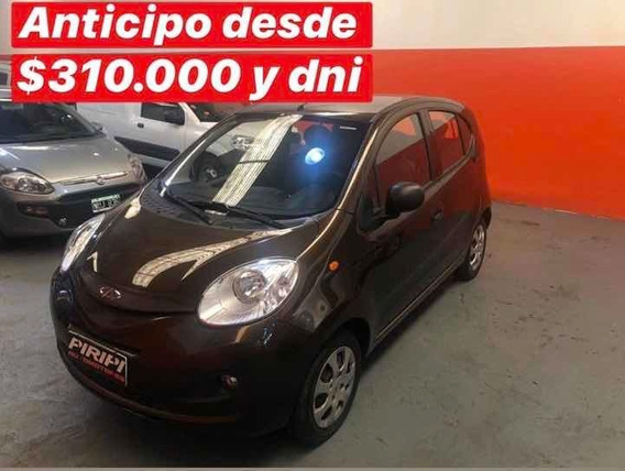 Chery Chery Qq 1.0 Light Security 2018,financia Solo Con Dni