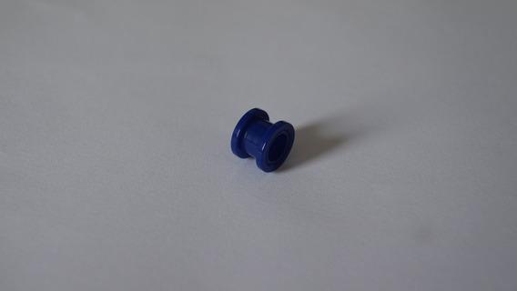 Alargador Acrílico Azul Opaco