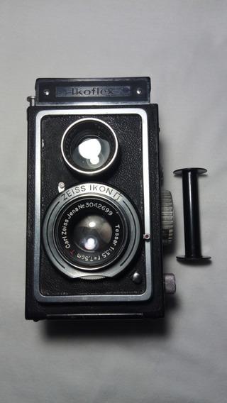 Zeiss Ikon Ikoflex Ii Com Carl Zeiss Tessar T 75mm F/ 3.5