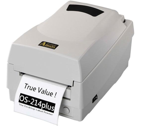 Impressora De Etiqueta Térmica Argox Os214 Plus - Nova