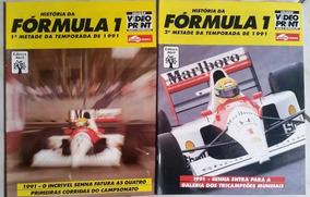 Revistas História Da Fórmula 1-temporada 1991 - Ayrton Senna