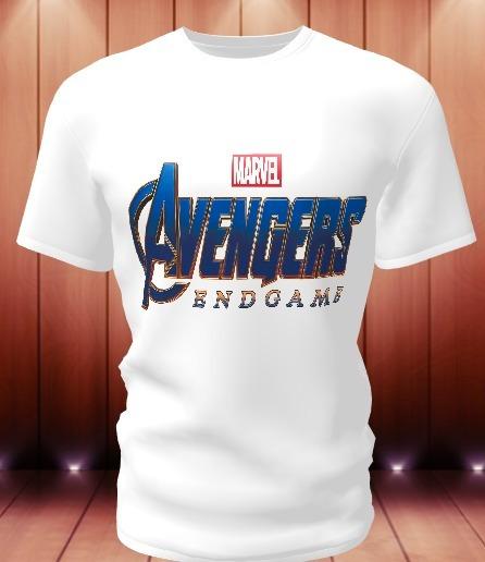 Camisa Camiseta Personalizada Vingadores: Ultimato