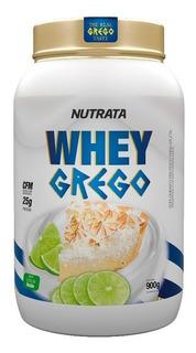 Whey Grego 900g Whey Protein Conc E Hidrolisado Nutrata Full