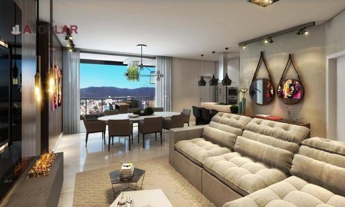 Apartamento À Venda, 120 M² Por R$ 908.000,00 - Meia Praia - Itapema/sc - Ap2196