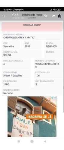 Chevrolet Onix 2019 1.4 Activ 5p