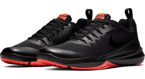 Tenis Nike Legend Trainer Hombre Negro/rojo Gym Originales