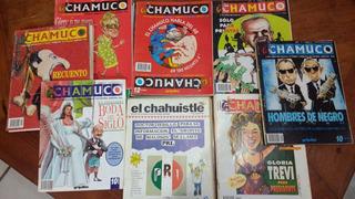 Lote De 47 Ejemplares De Revista El Chamuco Y El Chahuistle