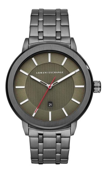 Relógio Masculino Armani Ax1472/1pn 45mm Aço Grafite
