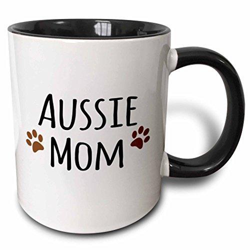 3drose Mug_154059_4 Perro Australiano Mamá Pastor Austral