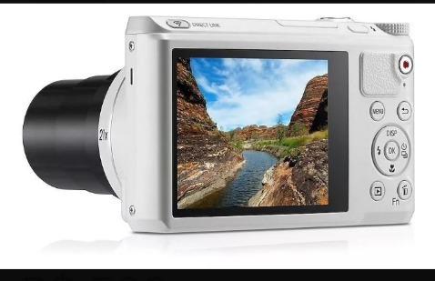 Camera Samsung Lens Wb800f Wi-fi 21x Importada Usada.