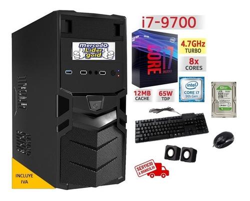 Cpu Intel Core I7 9na Novena Generacion 1tb 8gb Computador