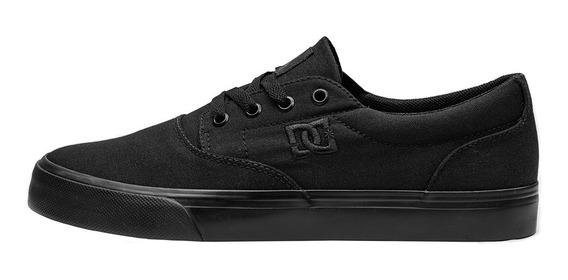 Tênis Dc Shoes New Flash 2 Tx All Black Original