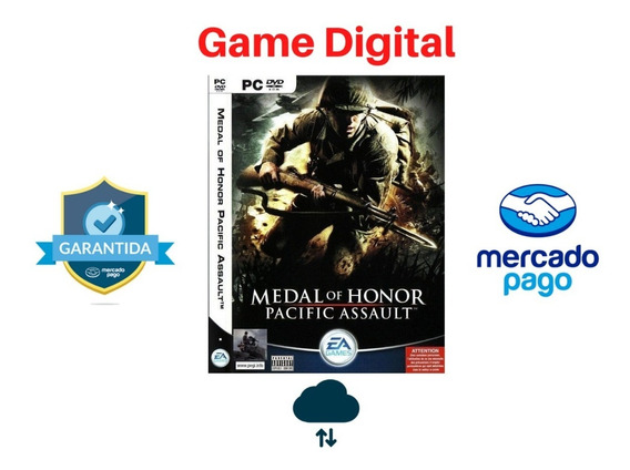 Medal Of Honor Pacific Assault + Brinde Digital Pc