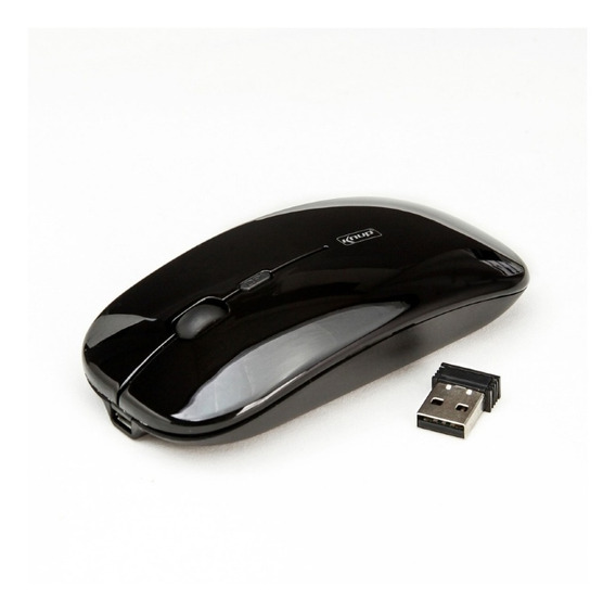 Mouse Sem Fio Recarregável G21 Preto Knup