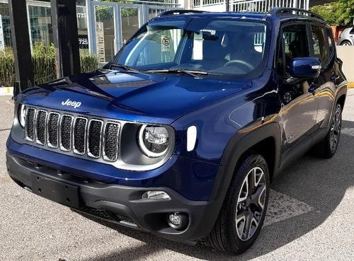 Jeep  Renegade Automatica Azul Marino Financiada