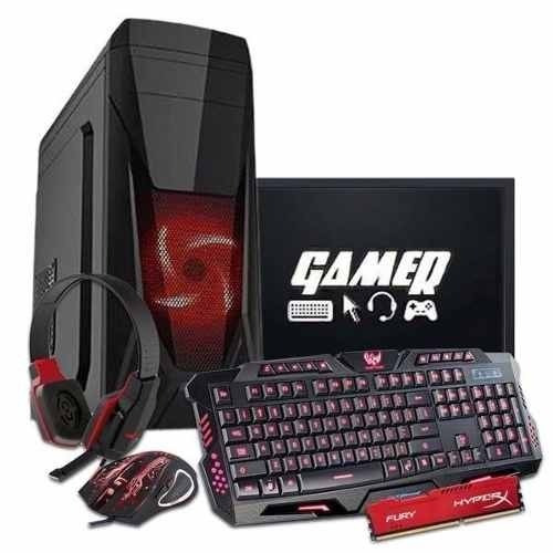 Pc Completo Gamer Imperiums A4 6300 + Brindes + Jogos