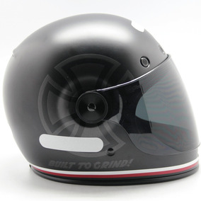 Capacete Moto Bell Bullitt Independent Preto