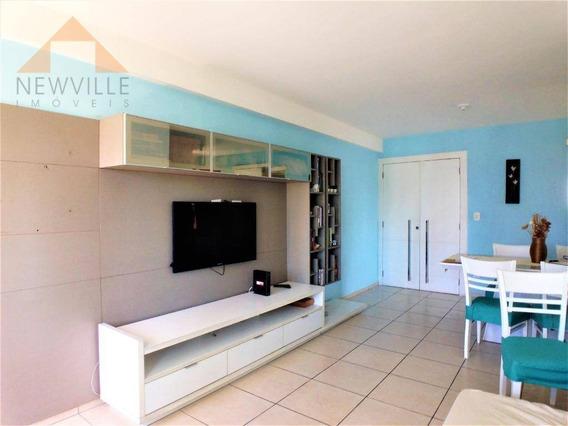 Apartamento Com 3 Quartos (1 Suite) À Venda, 95 M² Por R$ 650.000 - Boa Viagem - Recife/pe - Ap2279