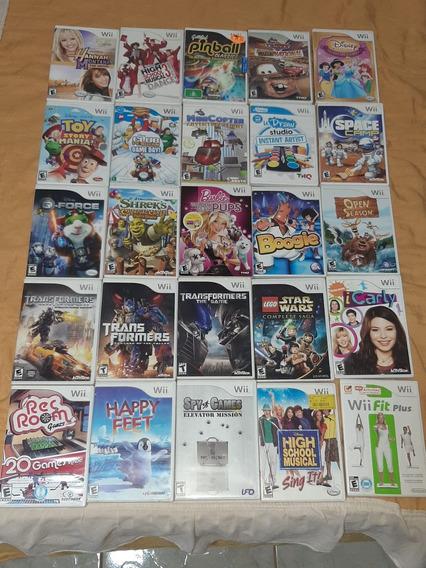 Jogos Originais Nintendo Wii, Preço 30 Por Unidade