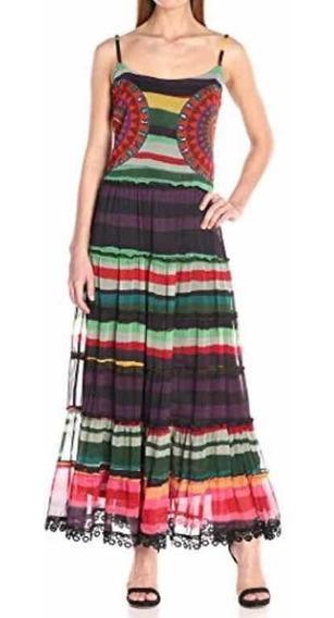 Hermoso Vestido Desigual Doll Talla 40