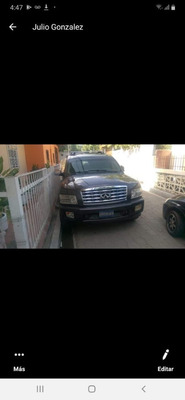 Nissam Infiniti 2012 4 Puertas Motor V8