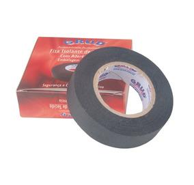 Fita Isolante De Tecido Pano Chicote Grud 19mm X 10mts Full