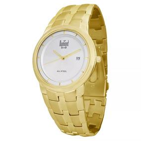 Relógio Dumont - Sr80099b - Dourado - 12x Sem Juros