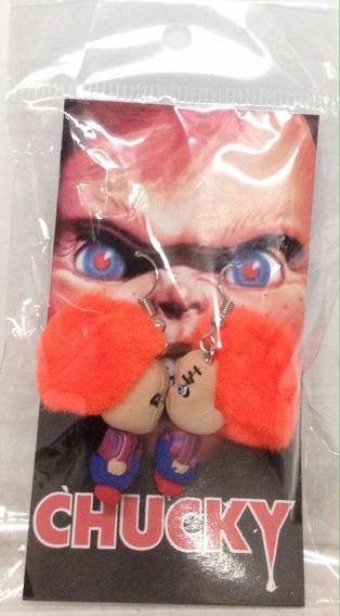 Aretes De Chucky Nuevos Sellados 891ju